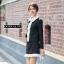 เสื้อผ้าเกาหลี พร้อมส่ง ชุดเซ็ทเสื้อ+กระโปรง thumbnail 3