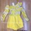 เสื้อผ้าเกาหลี พร้อมส่ง Jumpsuit เปิดไหล่ thumbnail 5