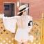 พร้อมส่ง Short Jumpsuit ทรงน่ารัก เสื้อผ้าเกาหลี thumbnail 3