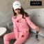 เสื้อผ้าเกาหลี พร้อมส่ง Set เสื้อ+กางเกง CHANEL thumbnail 3