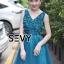 พร้อมส่ง Dress ลุคไฮโซเรียบหรู thumbnail 6