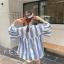 เสื้อเกาหลี พร้อมส่ง เสื้อเชิ้ตสไตล์เดียวกับตุ๊กตา Bylthe thumbnail 14