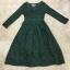 พร้อมส่ง Long dress ลูกไม้ยาว คอวี thumbnail 8
