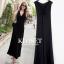 ชุดเดรสเกาหลี Maxi dress ไขว์ด้านหน้า พร้อมส่ง thumbnail 1