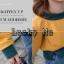 เสื้อเกาหลี พร้อมส่ง เสื้อคลุมแขนยาว 3 สี thumbnail 4