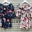 เดรสเกาหลี พร้อมส่ง Mini dress ไหมพรมทรงสวย thumbnail 2