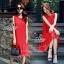 พร้อมส่ง Dress อัดพลีท ทรงสวย thumbnail 3