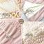 เดรสเกาหลี พร้อมส่ง เดรสผ้าลูกไม้ สีชมพูหวานบุซับในอย่างดี thumbnail 8
