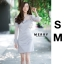 ชุดเดรสเกาหลี พร้อมส่ง เดรสสีซิลเวอแขนซีทรู thumbnail 1