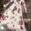 แม็กซี่เดรสเกาหลี ผ้าชีฟอง พร้อมส่ง thumbnail 7