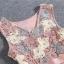 พร้อมส่ง เดรสตัวเสื้อผ้าถักโครเชต์ลายดอกไม้ 3 สี thumbnail 5