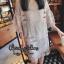 เดรสเกาหลี พร้อมส่ง MINI Dress แขนกระดิ่ง thumbnail 4