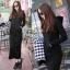 ชุดเดรสเกาหลี พร้อมส่ง เดรสยาว ผ้าคัตตัลยืดนิ่ม thumbnail 2