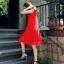 พร้อมส่ง Dress อัดพลีท ทรงสวย thumbnail 10
