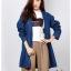 เสื้อเกาหลี พร้อมส่ง Blazer Jean เสื้อคลุม thumbnail 3