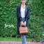 เสื้อเกาหลี พร้อมส่ง เสื้อคลุมตัวยาว แขนจั้มกระบอก thumbnail 5