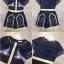 เสื้อผ้าเกาหลี Jumpsuit ขาสั้น พร้อมส่ง thumbnail 8