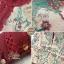 เดรสเกาหลี พร้อมส่ง เดรสยาว ซีทรูปักลายดอกไม้สวย thumbnail 13