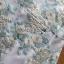 เดรสเกาหลี พร้อมส่ง มินิเดรสผ้าทูลล์ปักลายดอกไม้ thumbnail 10