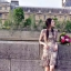 ชุดเดรสเกาหลี พร้อมส่ง เดรสปักลายดอกไม้ thumbnail 2