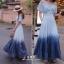 ชุดเดรสเกาหลี พร้อมส่ง Maxi Dress สม็อคไหล่ thumbnail 4