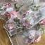 พร้อมส่ง เดรสผ้าทูลเลปักดอกไม้กุหลาบสีชมพู thumbnail 12