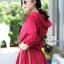 เดรสเกาหลี พร้อมส่ง เดรสสั้น ผ้าขนฟูนิ่ม thumbnail 7