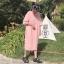 เดรสเกาหลี พร้อมส่ง เดรสชมพูหน้าคุณนายบาบ้าปาป้า thumbnail 10