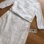 เดรสลูกไม้ พร้อมส่ง เดรสผ้าลูกไม้ สีขาว แต่งเชือกผูกเอว thumbnail 16