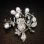 พร้อมส่ง Diamond Brooch เข็มกลัดเพชร thumbnail 1