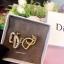 พร้อมส่ง Dior Earring เพชร CZ แท้ thumbnail 1