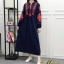 พร้อมส่ง Maxi Dress คอกลม แขนยาว thumbnail 2