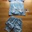 พร้อมส่ง เสื้อผ้าและกางเกงผ้าเดนิม thumbnail 8