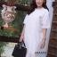 ชุดเดรสเกาหลี พร้อมส่ง Dress ผ้าจอเจียเนื้อดี thumbnail 11