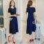 พร้อมส่ง Mini Dress ลุคเรียบหรู thumbnail 2