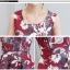 เสื้อผ้าเกาหลี พร้อมส่ง เสื้อสูทและเดรส สีแดงเข้ม thumbnail 7