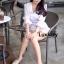 เสื้อผ้าเกาหลี พร้อมส่ง Jumpsuit ขาสั้น thumbnail 6