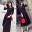 ชุดเดรสเกาหลี พร้อมส่ง Maxi dress ตัวยาว thumbnail 1