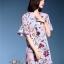 เดรสเกาหลี พร้อมส่ง เดรสผ้าชีฟองญี่ปุ่น thumbnail 4