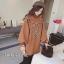 เดรสเกาหลี พร้อมส่ง มินิเดรสผ้าสำลี ปักดอกไม้ thumbnail 3