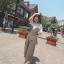 เสื้อผ้าเกาหลี Jump Suit ลายทาง พร้อมส่ง thumbnail 12