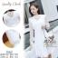 เดรสเกาหลี พร้อมส่ง เดรสผ้าลูกไม้ เกรดดีฉลุลายสวย thumbnail 2