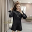 เดรสเกาหลี พร้อมส่ง mini dress ทรง over size thumbnail 2