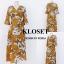 เดรสเกาหลี พร้อมส่ง Maxi Dress ลายดอก thumbnail 16