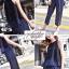 เสื้อเกาหลีแขนกุด+กางเกงขายาว พร้อมส่ง thumbnail 3