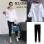 เสื้อผ้าแฟชั่นเกาหลี Zara shirt พร้อมส่ง thumbnail 1