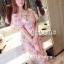 ชุดเดรสเกาหลี พร้อมส่ง Dress ชุดกระโปรงยาว thumbnail 2