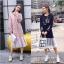 เดรสเกาหลี พร้อมส่ง Dress Hood แขนยาว thumbnail 1