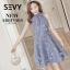พร้อมส่ง Mini dress ลุคคุณหนูน่ารัก thumbnail 8