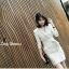 พร้อมส่ง Mini Dress มินิเดรสสูทสั้นคอปก thumbnail 6